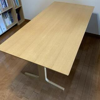 【ネット決済】無印良品 リビングでもダイニングでも使えるテーブル
