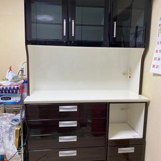 シギヤマ家具 食器棚 キッチンボード 120