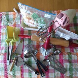 お菓子作り道具 調理器具