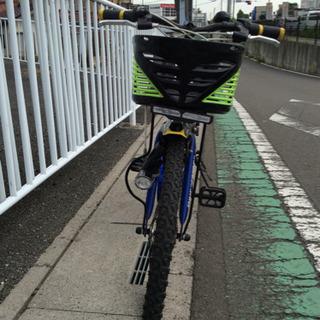 【 中古自転車】22インチ  (青メタリック/グリーン/黒…