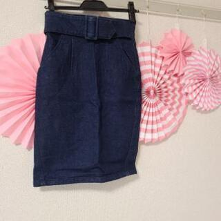 snidelジーンズスカート