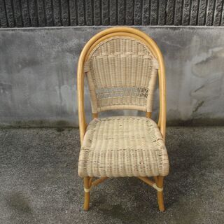 籐の椅子(大)