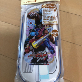仮面ライダービルド ランチ用 スプーン 箸 フォーク 3点セット