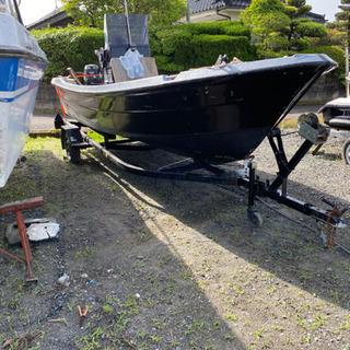 【ネット決済】トレーラーブル u-19 4st船外機