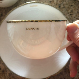 LANVIN カップ&ソーサー 6セット一式千円