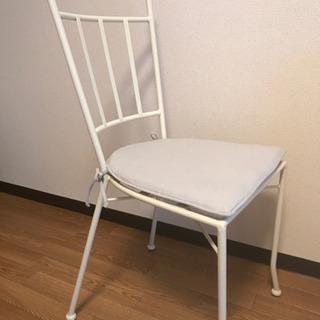 Francfranc フランフラン チェア 椅子 ホワイト