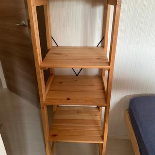 激安★木製棚★4段ラック★軽量ですが、しっかりしてます!