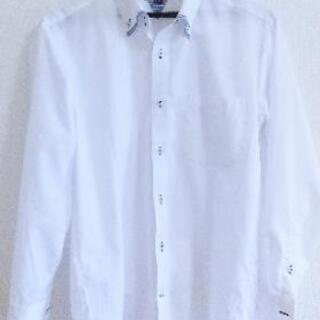 【新古品】TAKA-Q[タカキュー]ワイシャツ Mサイズ