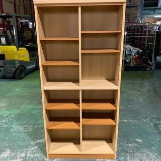 【ネット決済】値下げ 収納家具 6段 棚板調整可能 書棚 大丸木工