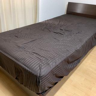 【期間限定値下げ!】シングルベッド マットレスセット