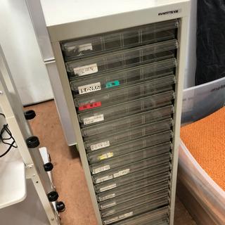 フロアケース A4書類収納浅型18段 🌈しげん屋