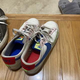 【ネット決済】コンバース、NIKEの三足セット