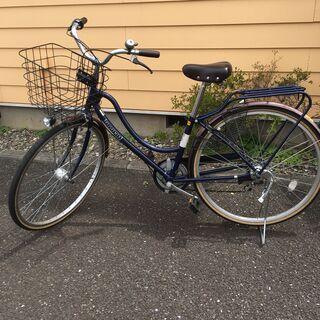 マルキン 27インチ自転車 LEDオートライト シマノ製外装6段...