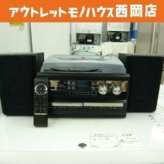 TURNTABLE 2 CD RECORDER CDコピー機搭載...