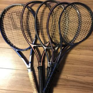 テニスラケット5本