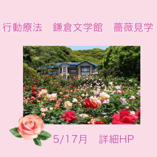 【行動療法】 「鎌倉文学館 薔薇見学ウォーキング」