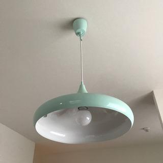 LEDペンダントライト 天井照明 グリーン