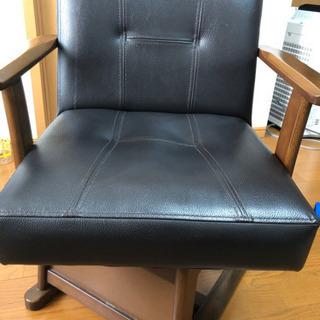 椅子 座面高38cm 回転します