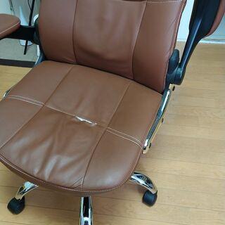【ネット決済】オフィスチェア ブラウン