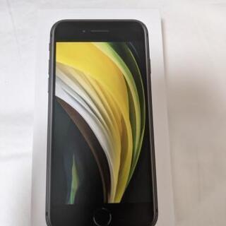 新品未使用 iPhoneSE 64GB ブラック