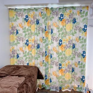 【ネット決済】美品♡カーテン(約200cm×約180cm)