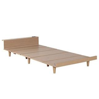 【ネット決済】組み立て簡単シングルベッド