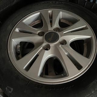 軽自動車用13inch社外アルミ 4本 タイヤ使用不可