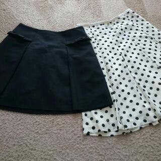 スカート2枚セット 標準体型