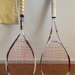 テニスラケット YONEX、mizuno