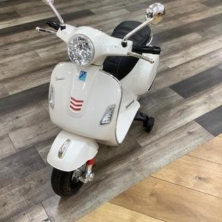 電動バイク Vespa(ベスパ) ホワイトのご紹介です。