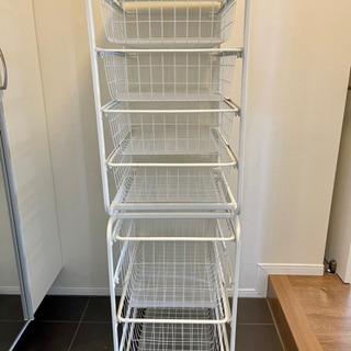 【無料】IKEAバスケット型収納