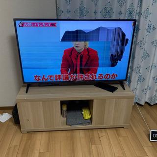 画面割れ ジャンク LG 49インチ 4Kテレビ 4Kチューナー内蔵