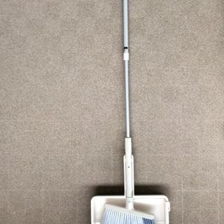 ☆外掃除用 箒とちりとりのセット 側溝の掃除も可 フック付…