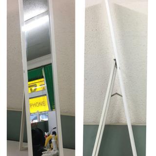 スタンドミラー 姿見 鏡 高さ約150cm 幅約30cm …