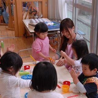 【保育園のパート保育補助】9:00~16:30固定勤務(土日祝休...