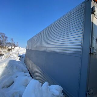 T13【格安】4トン箱 幅242cm長さ630cm高さ266cm...