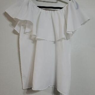 ⦅新品未使用⦆白ののオフショルシャツ