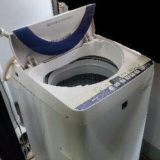 SHARP 洗濯機 5.5kg 実働  取りに来てくれる方 あげます