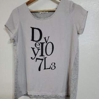 La・DO・DA  グレーのシャツ