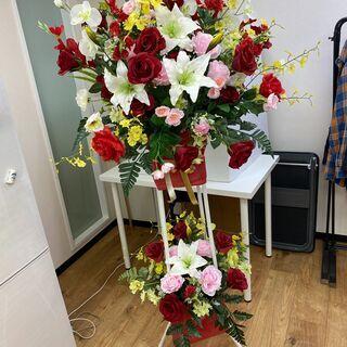 【ネット決済】造花のスタンド花お譲りいたします!
