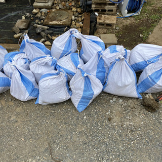 残土 土嚢袋 16袋分