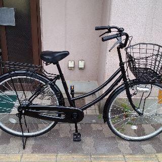 26吋 ファミリーサイクル シングル/ブラック