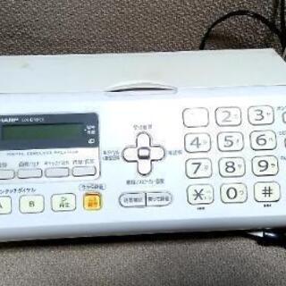 [5月17日取置]電話機