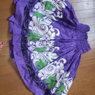 フラダンス 衣装 パウスカート フリーサイズ