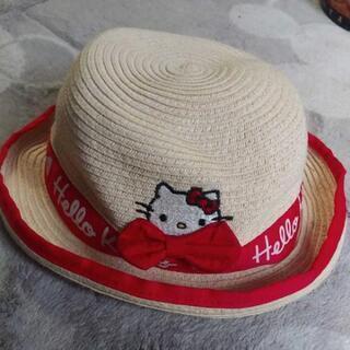 キティちゃん麦わら帽子