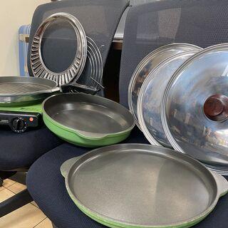 💛レトロ ムスイ 電気鍋セット マイファミリーHN-048…