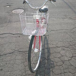 格安 中古自転車 27インチ 6段切替 4480円 オート…