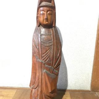 【ネット決済】置き物!木彫りアンティーク