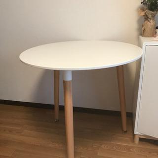 テーブル ホワイト ラウンド
