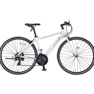 クロスバイク 700C エアーオン II ホワイト ワイヤ…
